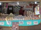 Gastronomía regional española quesos de Extremadura Plaza de Benavente Madrid Spain