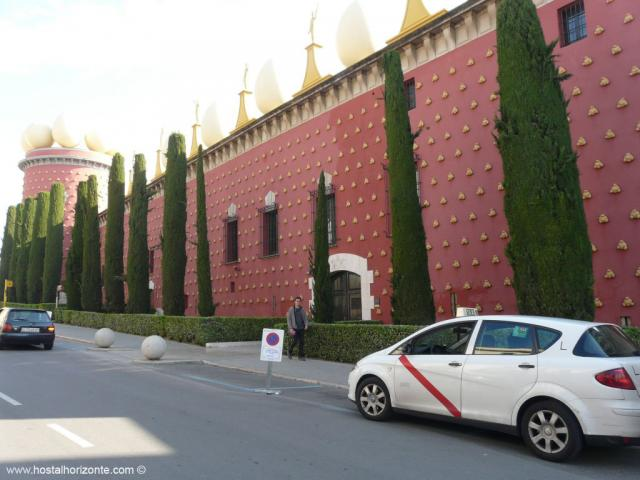 museo dali figueras taxi madrid
